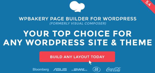 افزونه ویژوال کامپوزر   Wpbakery Page Builder