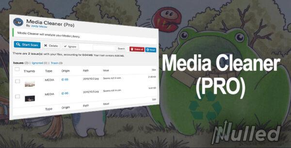 حذف عکس و فایل های اضافه وردپرس Media Cleaner Pro