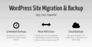 افزونه Duplicator PRO ساخت بسته نصب آسان برای انتقال سایت