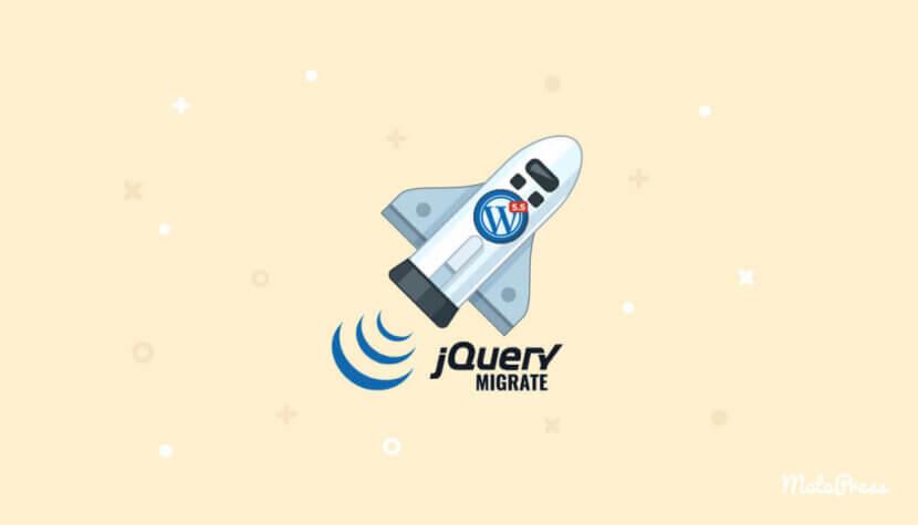 jQuery Migrate 1024x586 1 830x475 - آموزش رفع مشکل JavaScript در وردپرس 5.5 به بعد