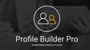 افزونه ساخت پروفایل حرفه ای وردپرس | Profile Builder Pro