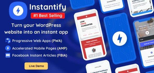 افزونه اینستنتیفای | Instantify