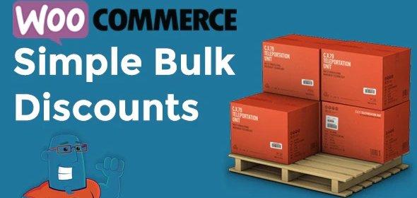 افزونه تخفیف برای خرید عمده در ووکامرس | WooCommerce Simple Bulk Discounts