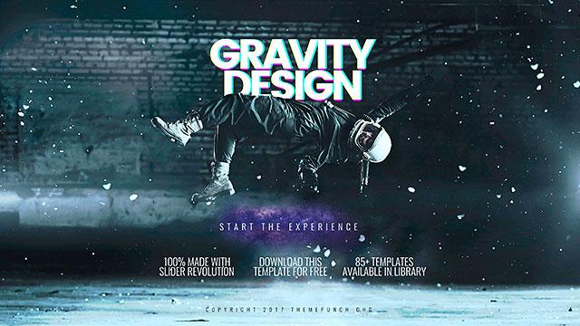 template gravity - gravity design