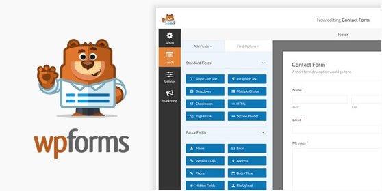wpforms most user friendly wordpress contact form plugin in the market 558x280 - فرم ساز وردپرس حرفه ای   WPForms pro