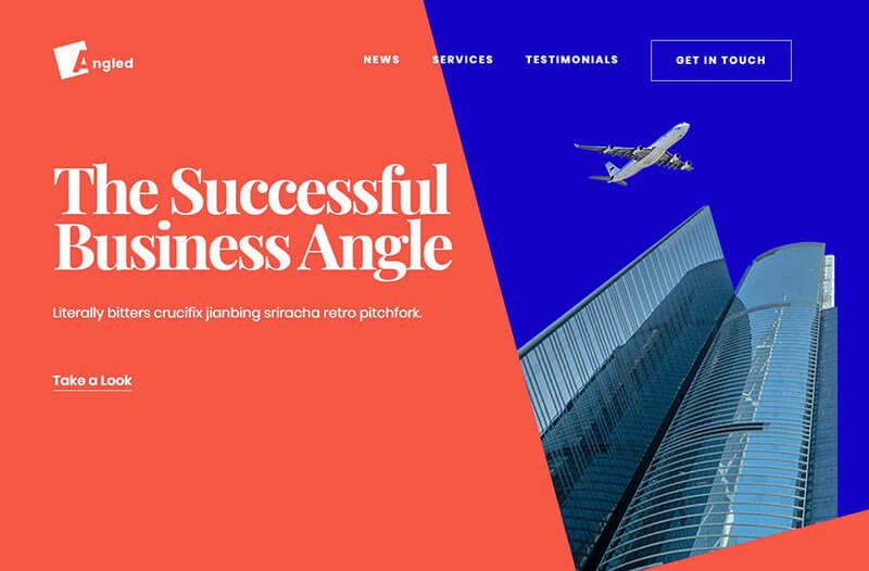 Angled Business Website - Angled Business Website