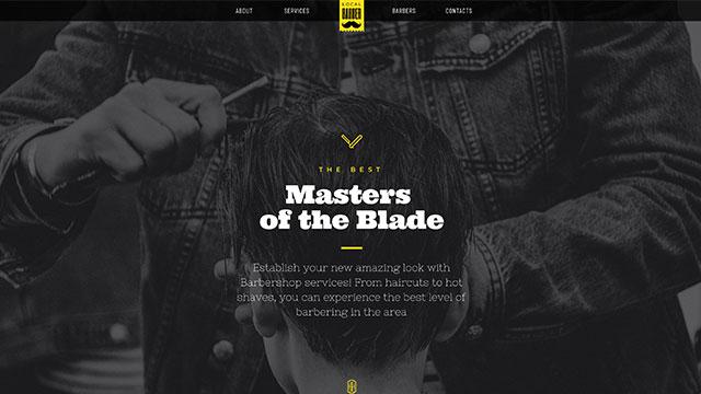 barber shop - Barber Shop Website