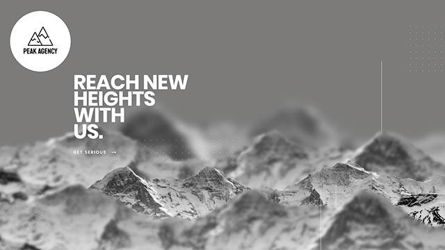 template peakagency - Peak Agency Website