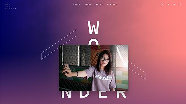 wonderstruck - Wonderstruck One-Pager Website